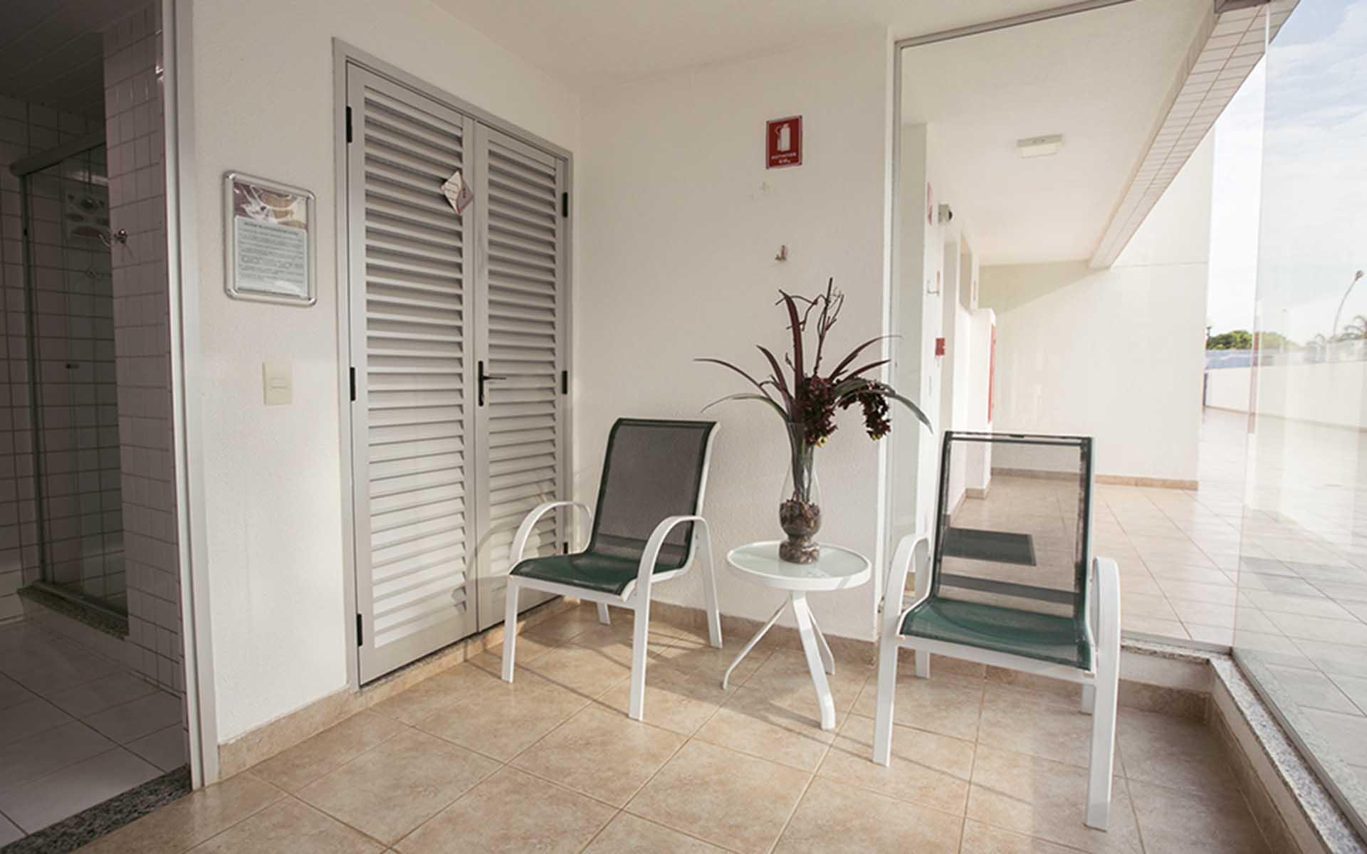 sauna do apart hotel flat em brasilia premier hplus long stay