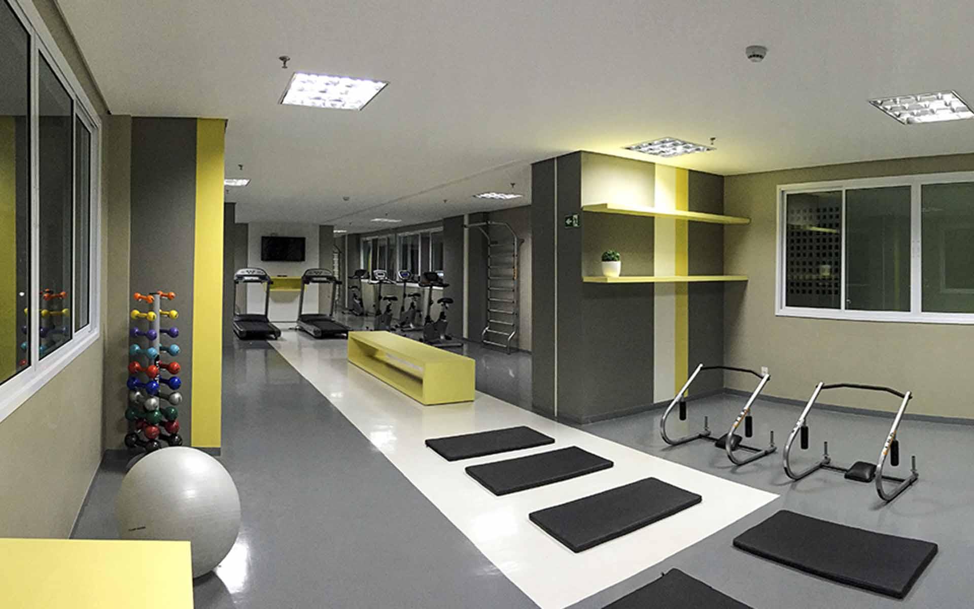 academia do apart hotel flat em brasilia spot hplus long stay