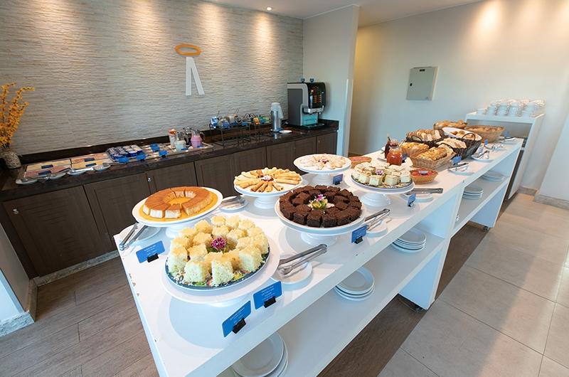 cafe da manha no hotel saint moritz hplus express em Brasília