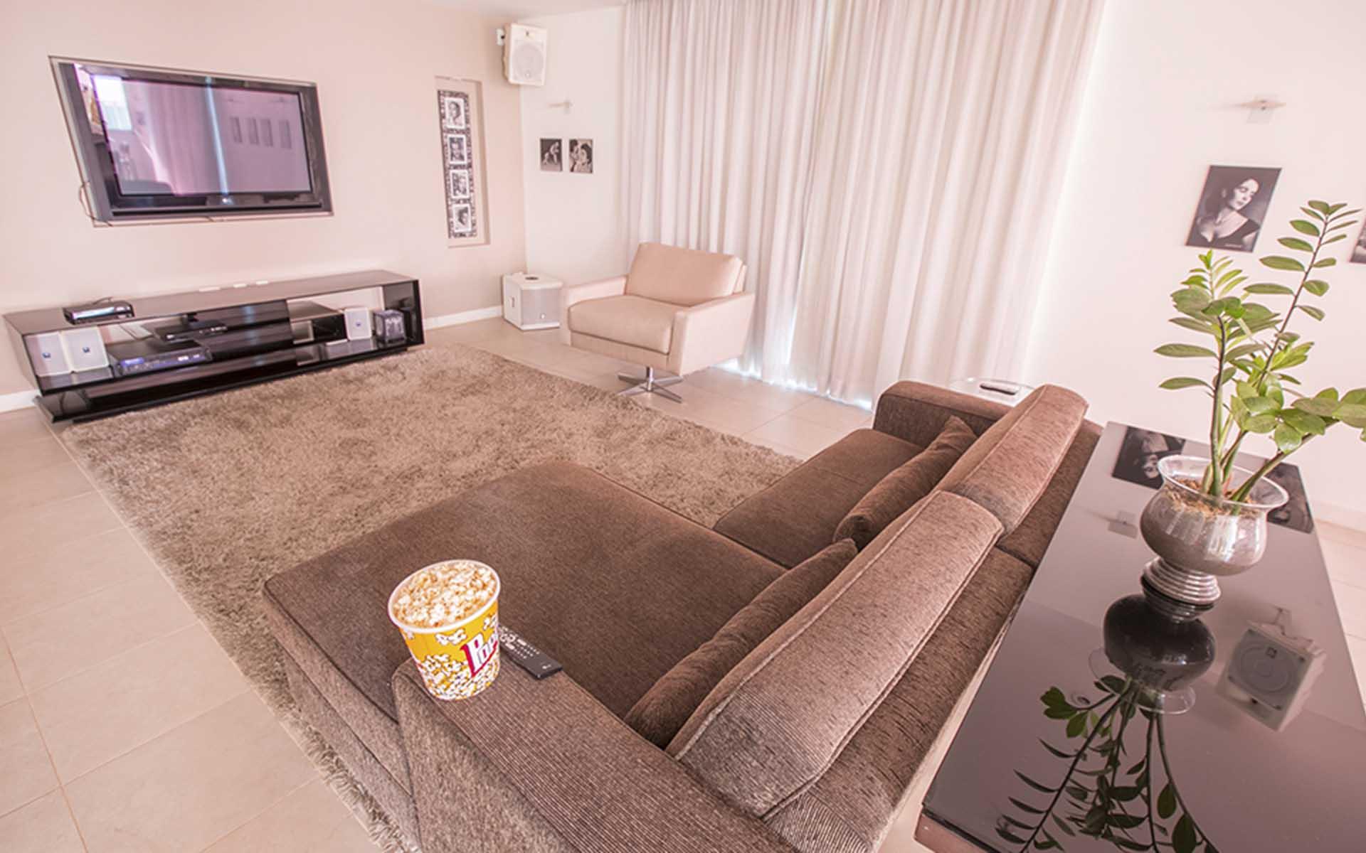 espaço gourmet do apart hotel flat em brasilia biarritz hplus long stay