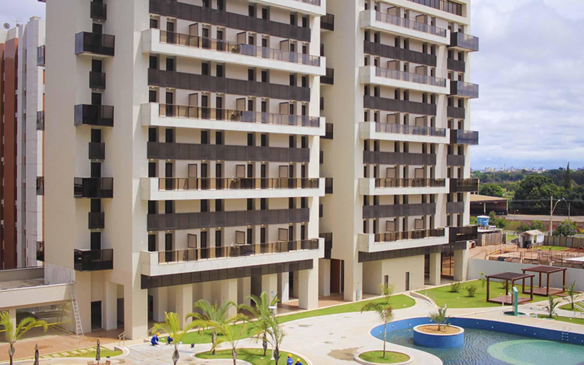 apart hotel flat em brasilia venice park hplus long stay