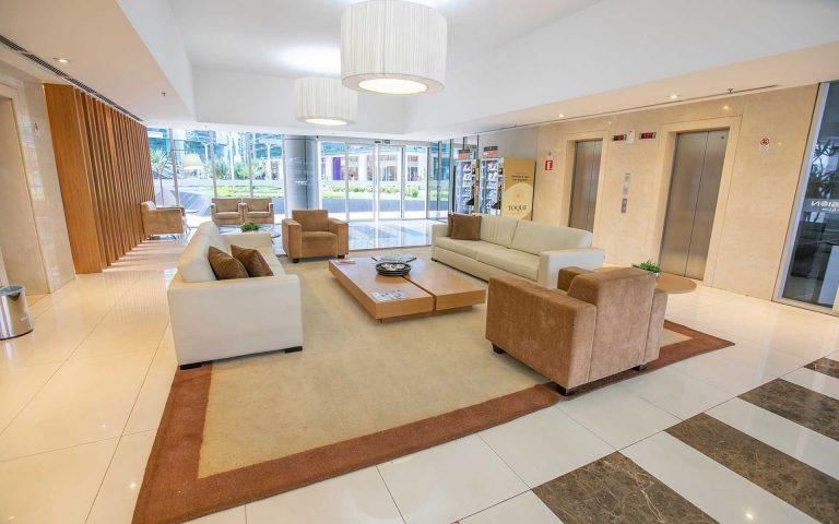 recepcao hotel vision hplus em brasilia