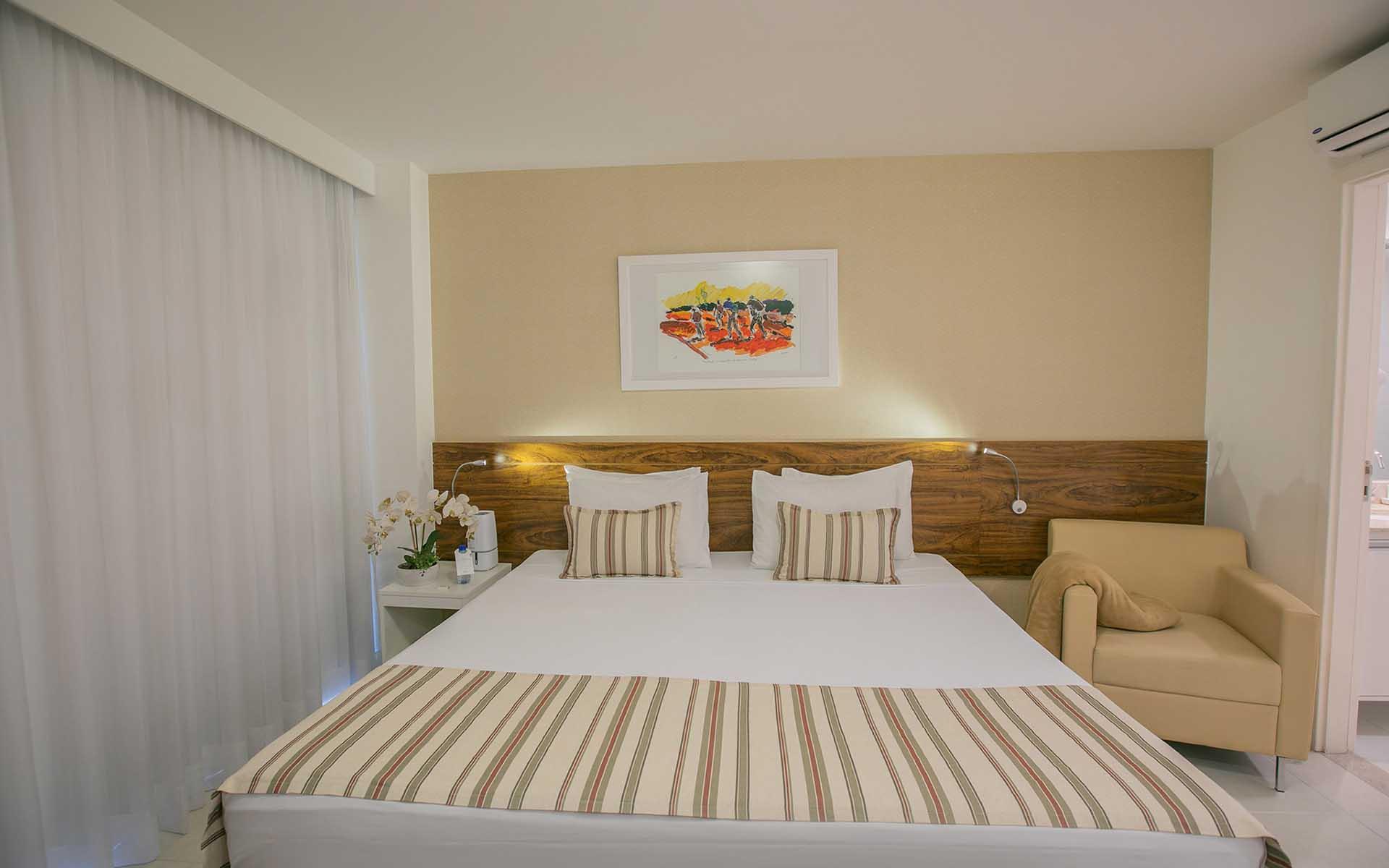 suite luxo view hotel vision hplus em brasilia