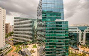 vista do quarto superior hotel vision hplus em brasilia