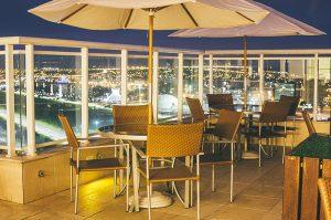 Vista do hotel Saint Moritz Hplus Express em brasilia
