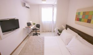 apartamento de luxo do flat em Brasília hplus Life Resort long stay
