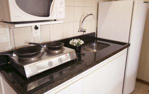 apartamento luxo do flat em Brasília hplus Verona long stay