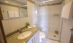apartamento suite do flat em Brasília hplus Life Resort long stay