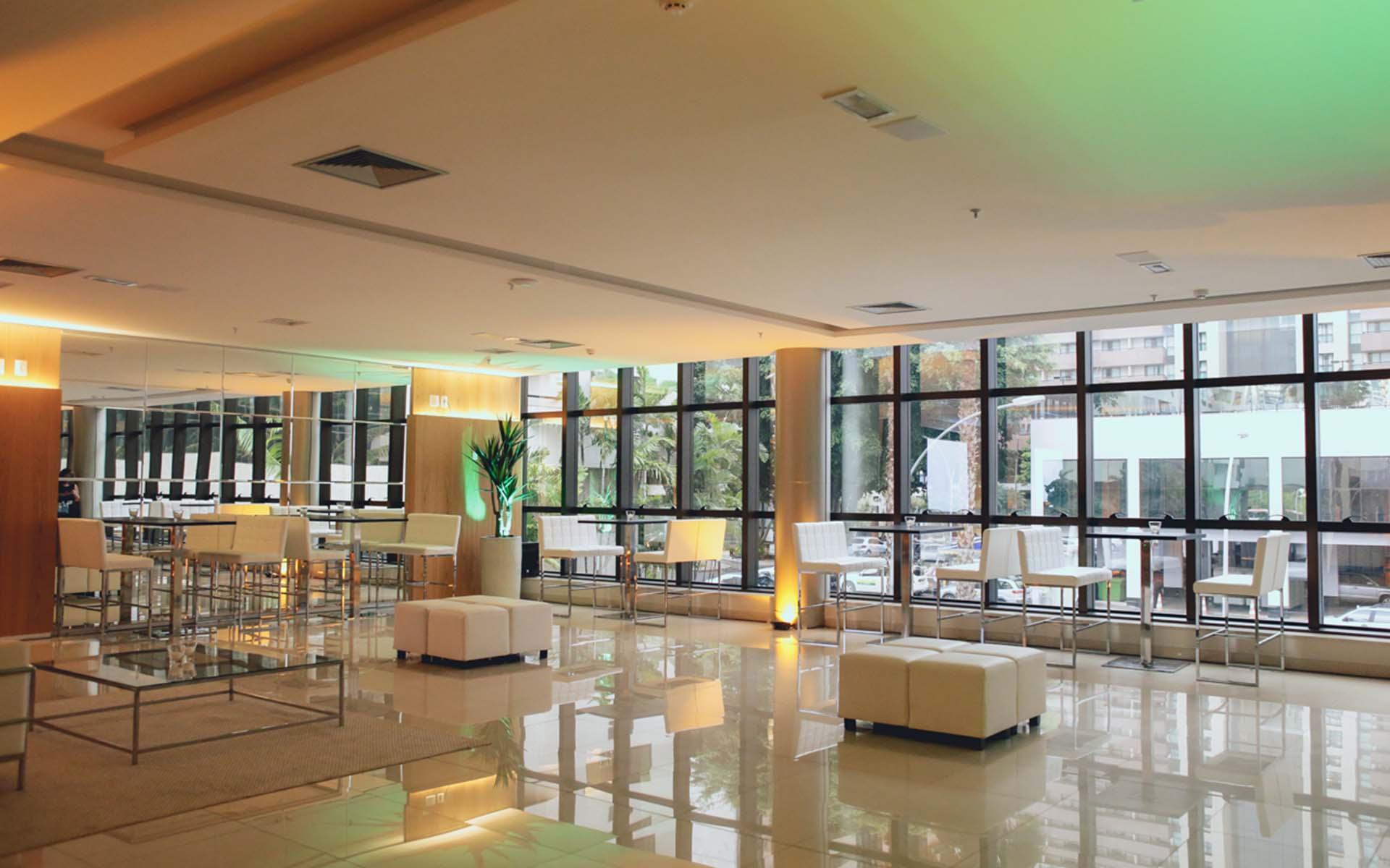 hotel para eventos em Brasília Hplus Cullinan