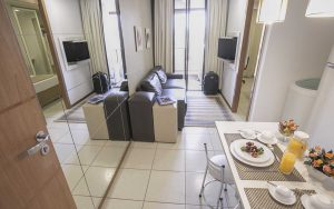apartamento super luxo do flat em Brasília hplus Life Resort long stay