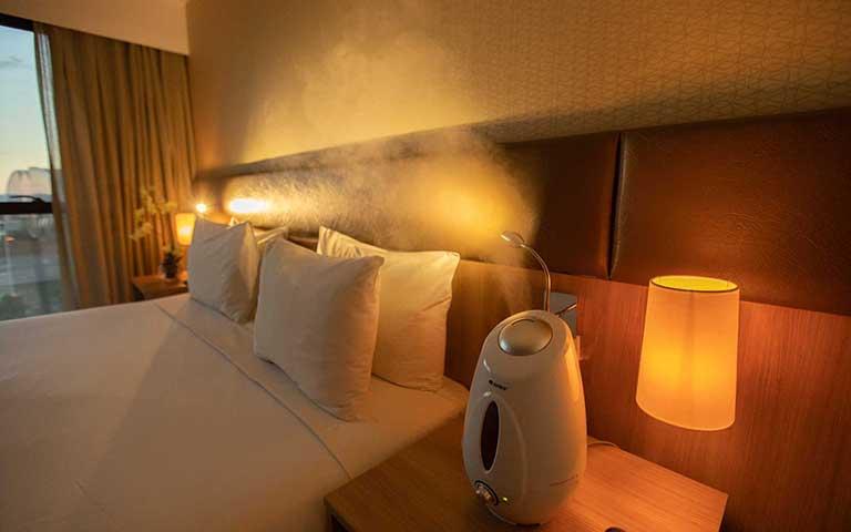 quarto de luxo hotel athos bulcão