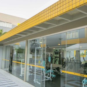 academia do apart hotel flat em brasilia multiparque hplus long stay