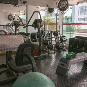 academia do apart hotel flat em brasilia premier hplus long stay