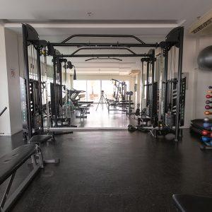 Academia do hotel saint moritz hplus express em Brasília