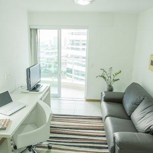 apartamento suite do flat em Brasília hplus Biarritz long stay