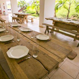 Churrasqueira do apart hotel flat em brasilia premier hplus long stay
