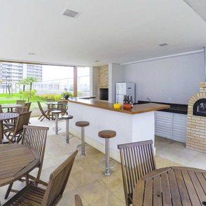 churrasqueira do apart hotel flat em brasilia blend hplus long stay