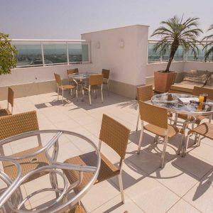 cobertura do apart hotel flat em brasilia biarritz hplus long stay