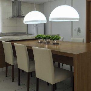 espaço gourmet do apart hotel flat em brasilia blend hplus long stay