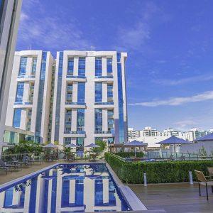 apart hotel flat em brasilia vista park sul hplus long stay