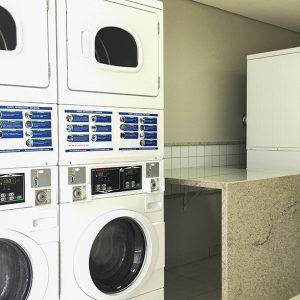 lavanderia do apart hotel flat em brasilia blend hplus long stay