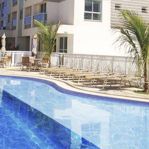 piscina apart hotel flat em brasilia spot hplus long stay