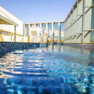 piscina do hotel fusion hplus em brasilia