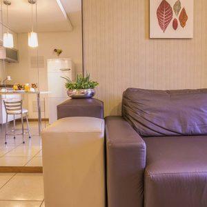 Quarto de Luxo do life apart hotel em brasilia