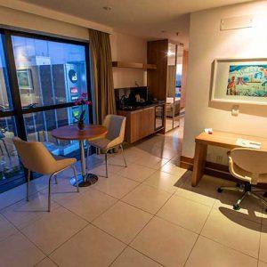 quarto luxo hotel athos bulcão