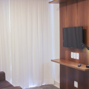 apartamento superior do flat em Brasília hplus Blend long stay