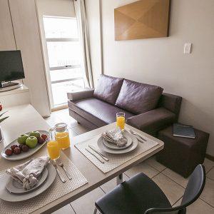 apartamento superior do flat em Brasília hplus Verona long stay