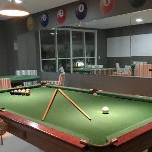 sala de jogos do apart hotel flat em brasilia spot hplus long stay