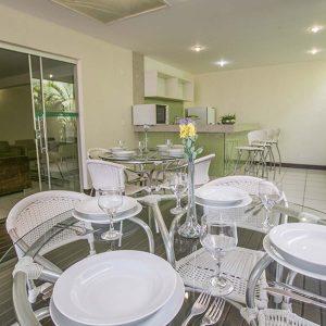 salão de festas do apart hotel flat em brasilia verona hplus long stay