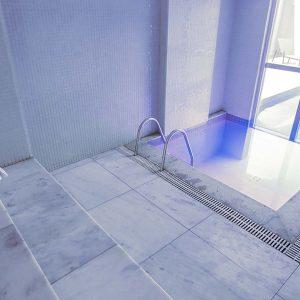 sauna do apart hotel flat em brasilia vista park sul hplus long stay