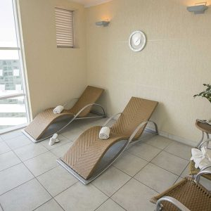 sauna do apart hotel flat em brasilia biarritz hplus long stay